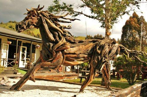 Jack Marsden Mayer - driftwood horse